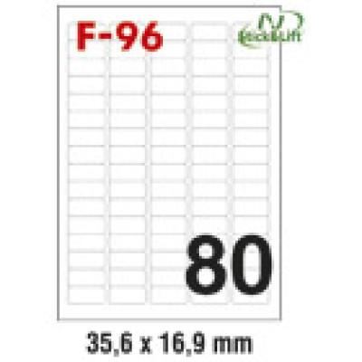 Etikete ILK 35,6x16,9mm odljepljive pk100L Fornax F-96
